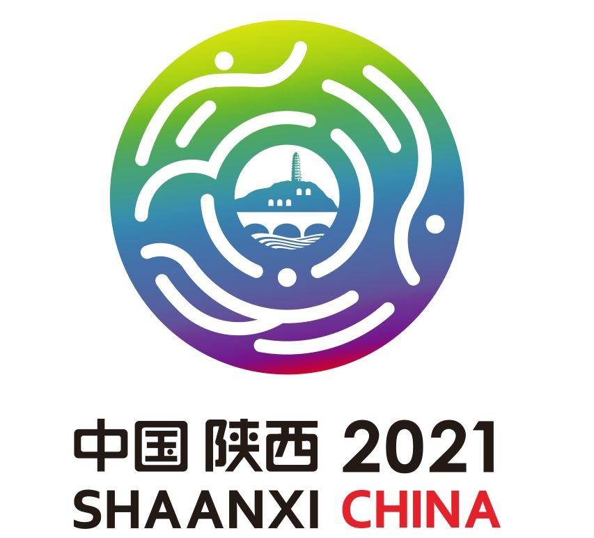 制作许久的第十四届全运会吉祥物会徽首次亮相古城西安。